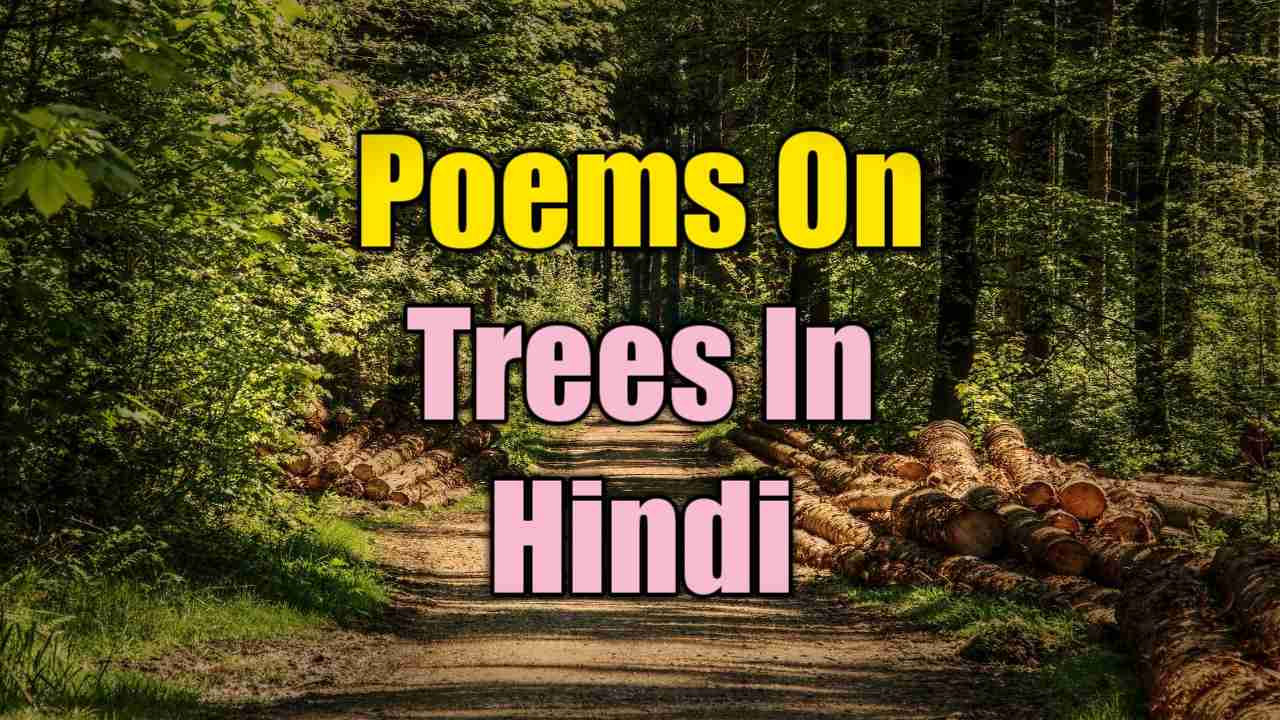 poem on trees in hindi