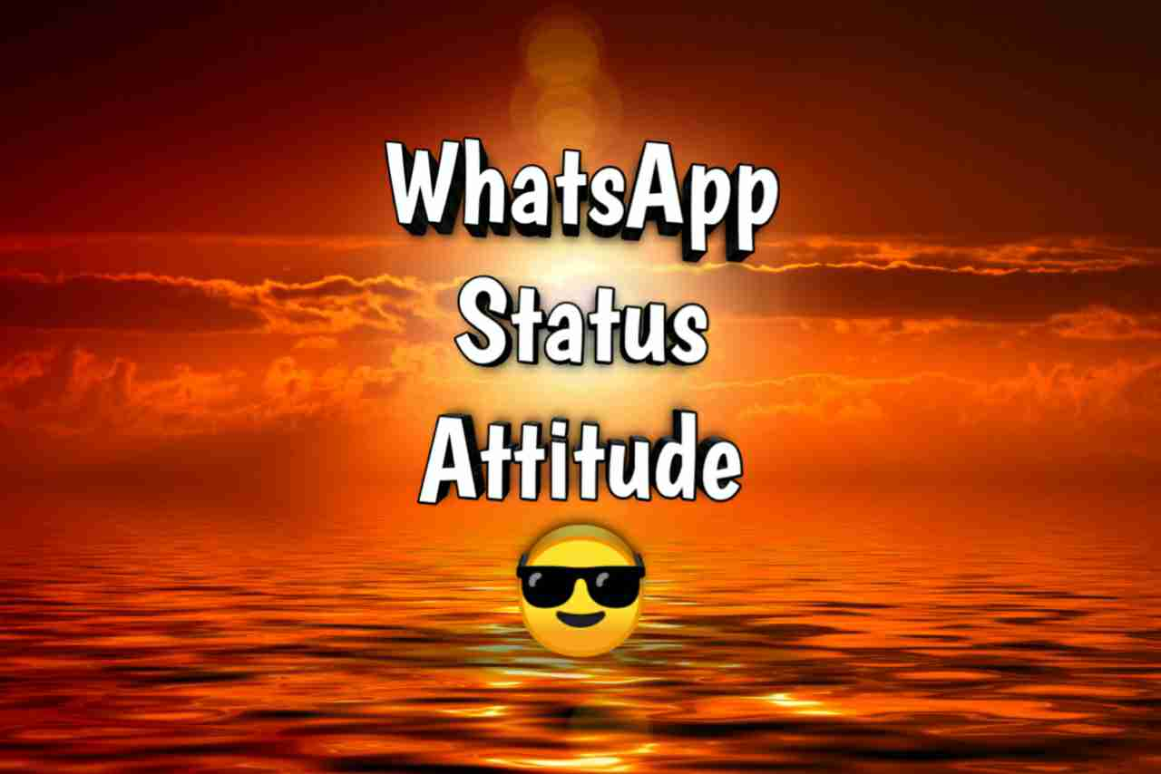 Photo of Whatsapp Status Attitude