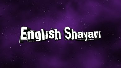Photo of English Shayari