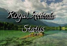 Photo of Royal Attitude Status In Hindi