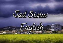 Photo of Sad Status In English