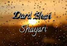 Photo of Dard Bhari shayari