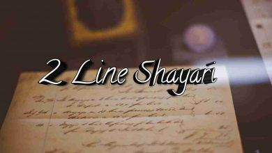 Photo of 2 Line Shayari